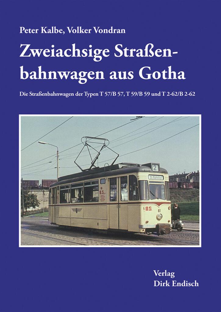 Zweiachsige Straßenbahnwagen aus Gotha