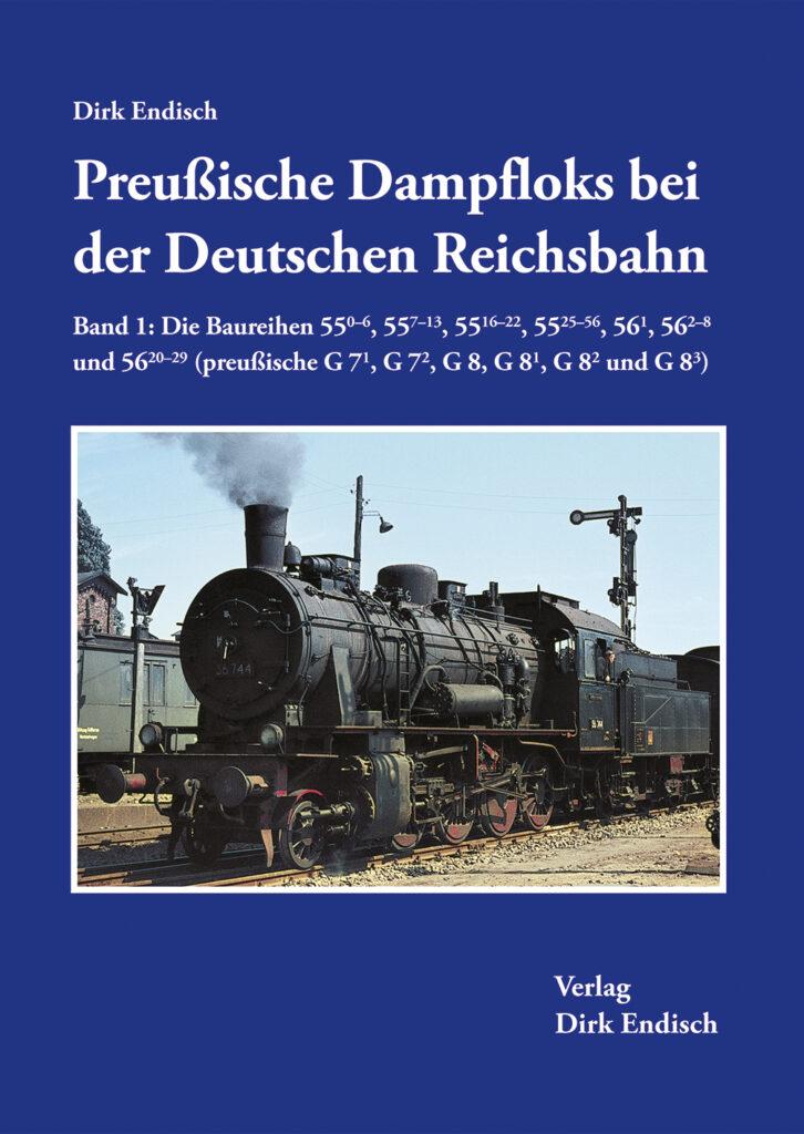 Preußische Dampfloks bei der Deutschen Reichsbahn – Band 1