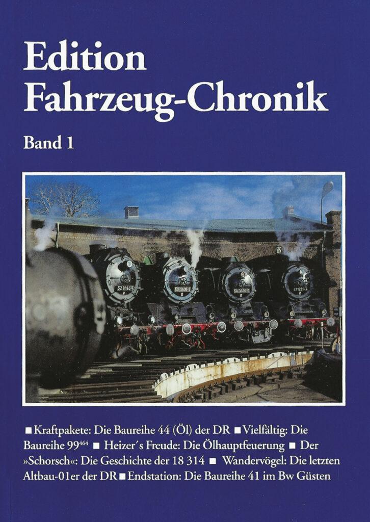 Fahrzeug-Chronik Band 1